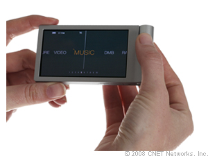 Image of Iriver Spinn MP3 player.