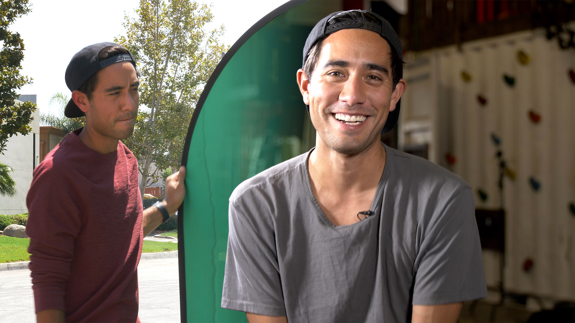 Video: How Zach King creates his mind-bending illusions on TikTok, YouTube and Instagram