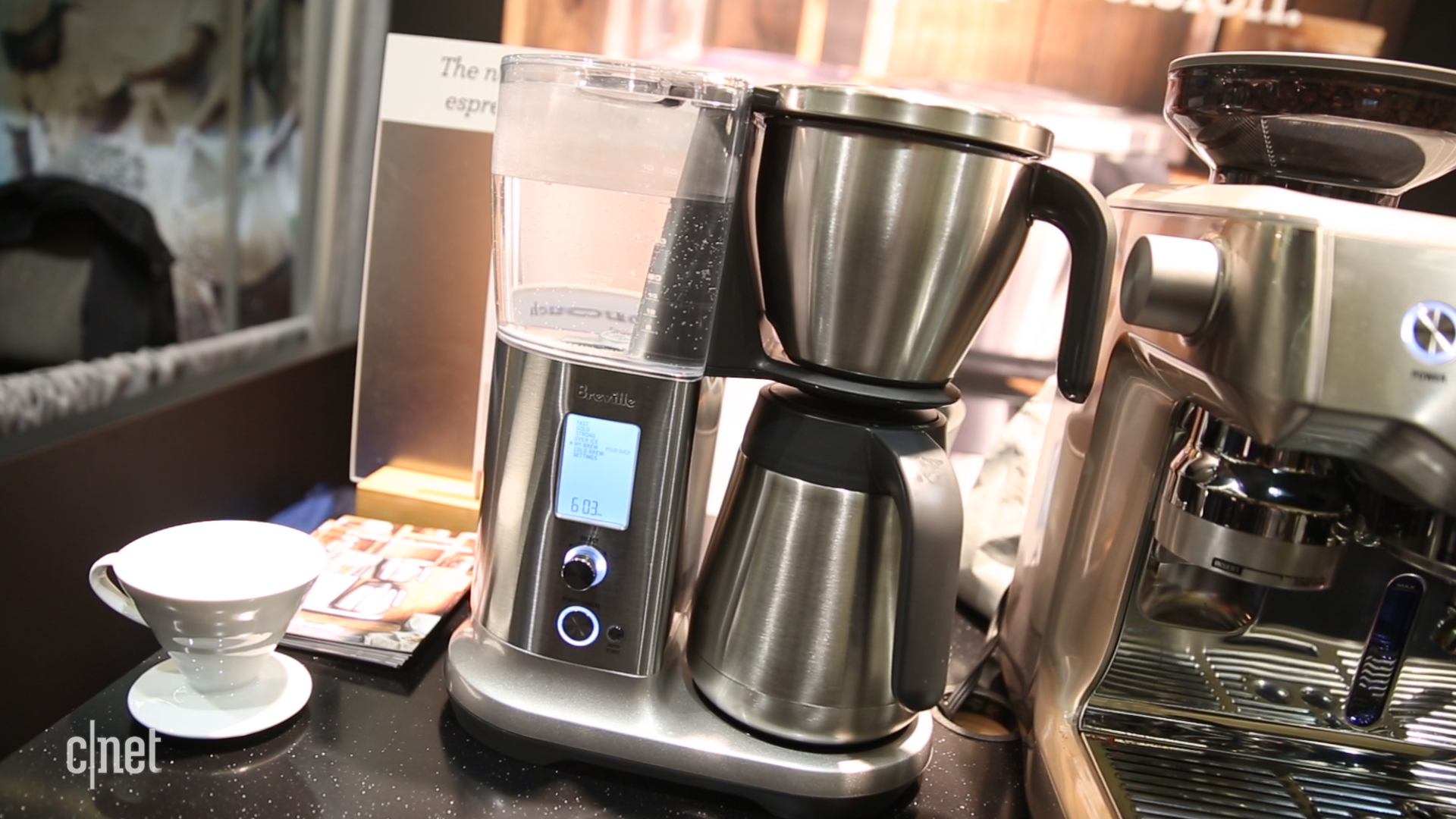 Video: Two new Breville coffee makers brew cups with robotic precision
