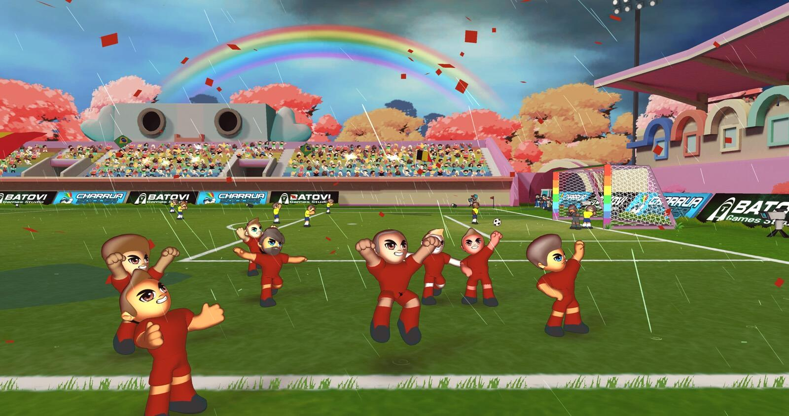 Apple Arcade scores a goal with new Charrua Soccer game
