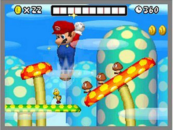 Top-selling DS game: New Super Mario Bros.