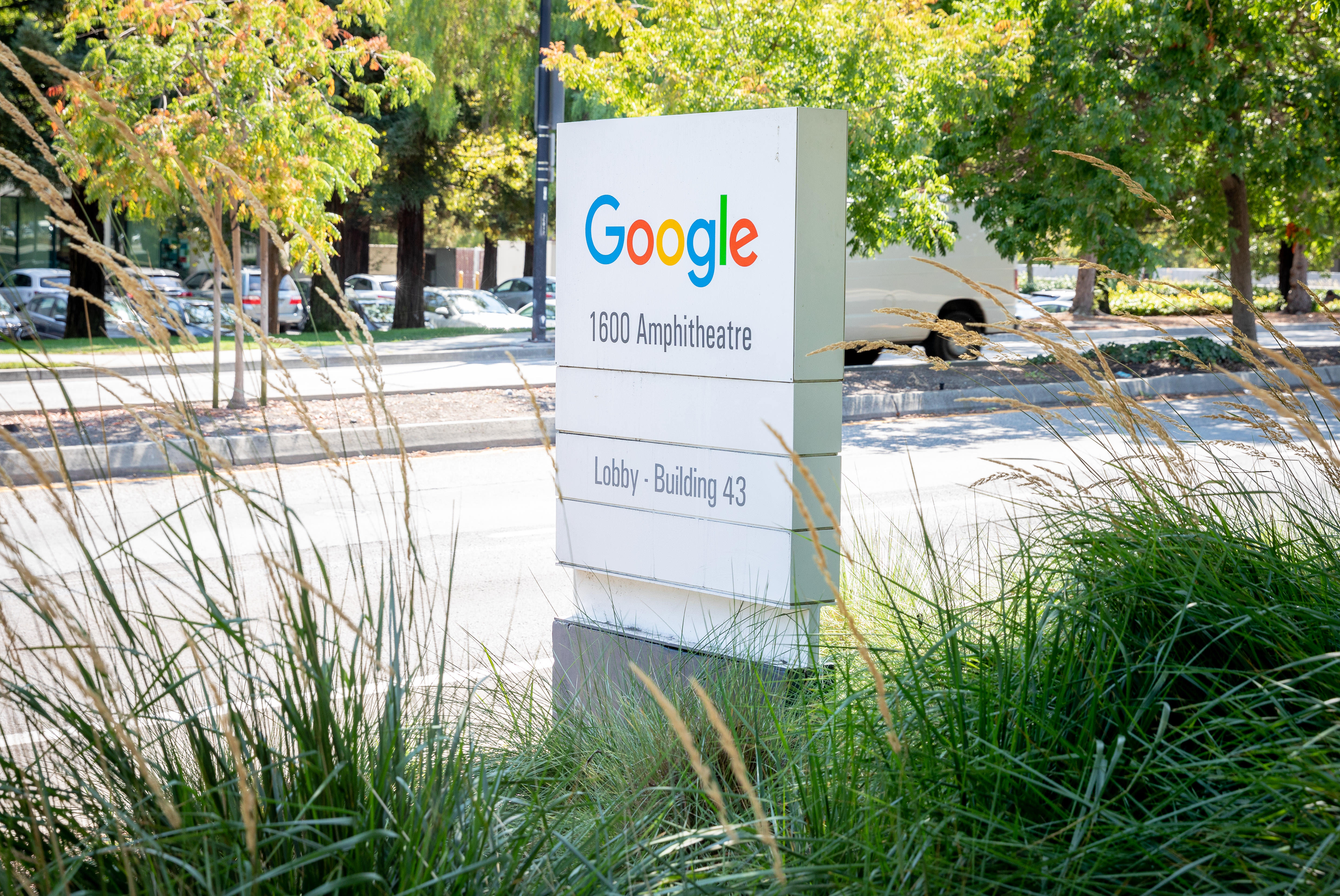 Google's campus next to headquarters in Mountain View, California