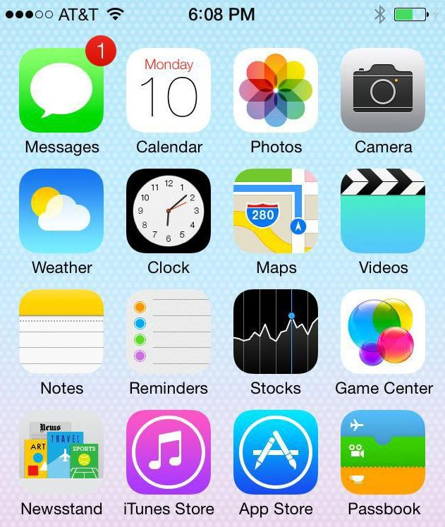 Your iPhone 5 will look a lot more like a 5S once you install iOS 7.