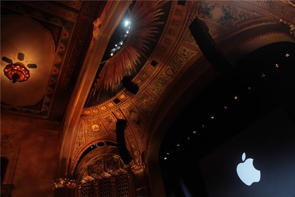 The California Theater, where Apple's iPad event took place last October.