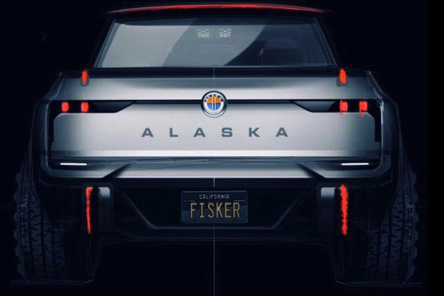 Fisker Alaska electric pickup
