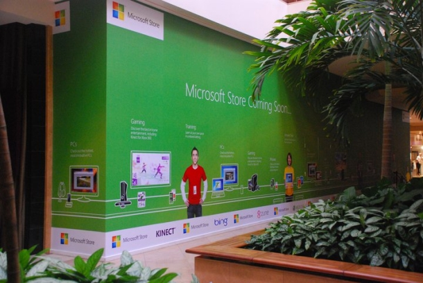 Microsoft is opening two more retail stores between now and the end of June.