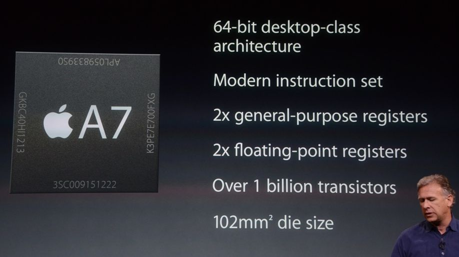 The A7 chip sure has a lot of fancy specs. But what's the benefit to the user?