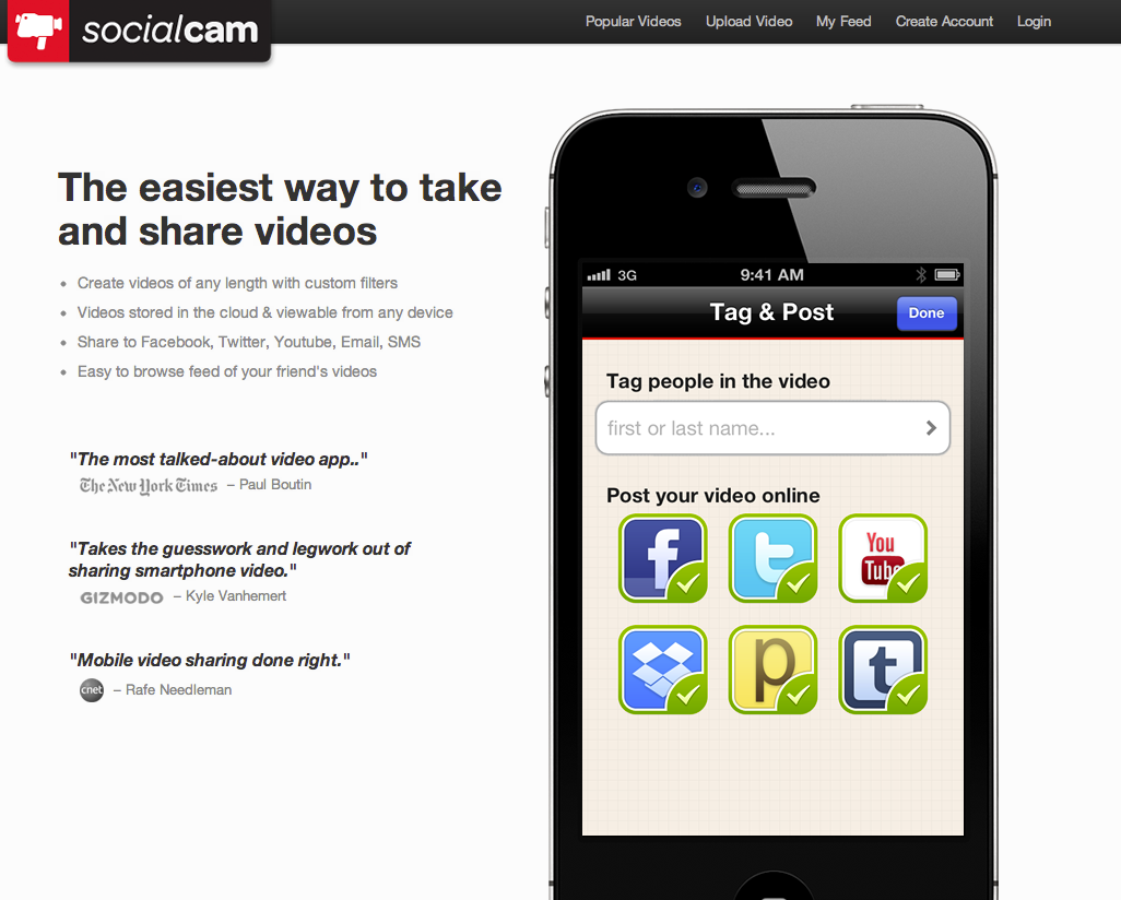 Socialcam changes are designed to help people avoid oversharing of videos on social media sites.