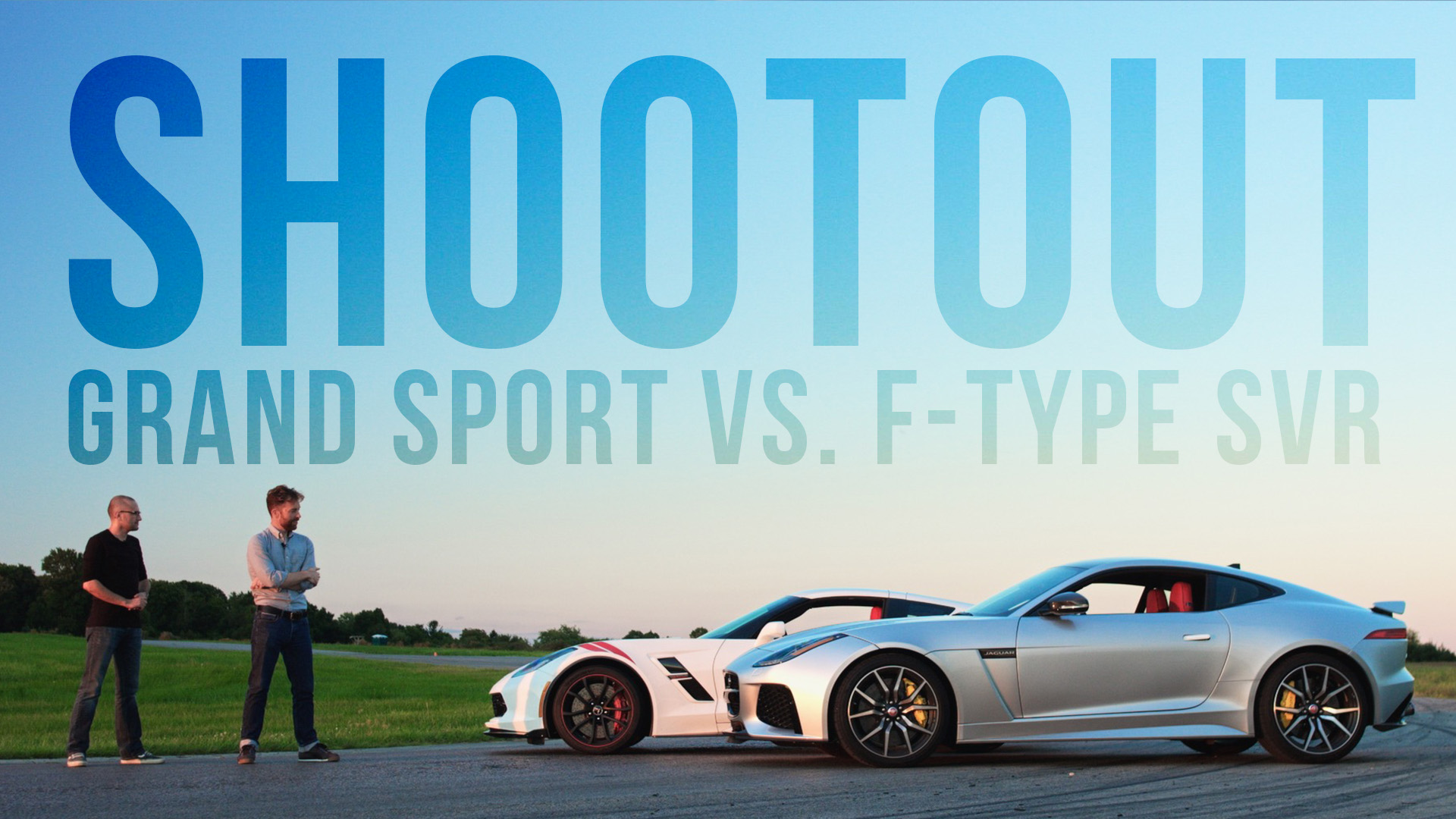 Video: The Chevrolet Corvette Grand Sport takes on the Jaguar F-Type SVR