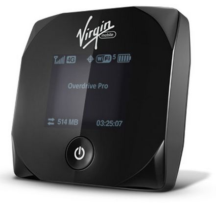 The Virgin Mobile Overdrive Pro might be the ideal travel companion when the hotel's Wi-Fi is on the fritz.
