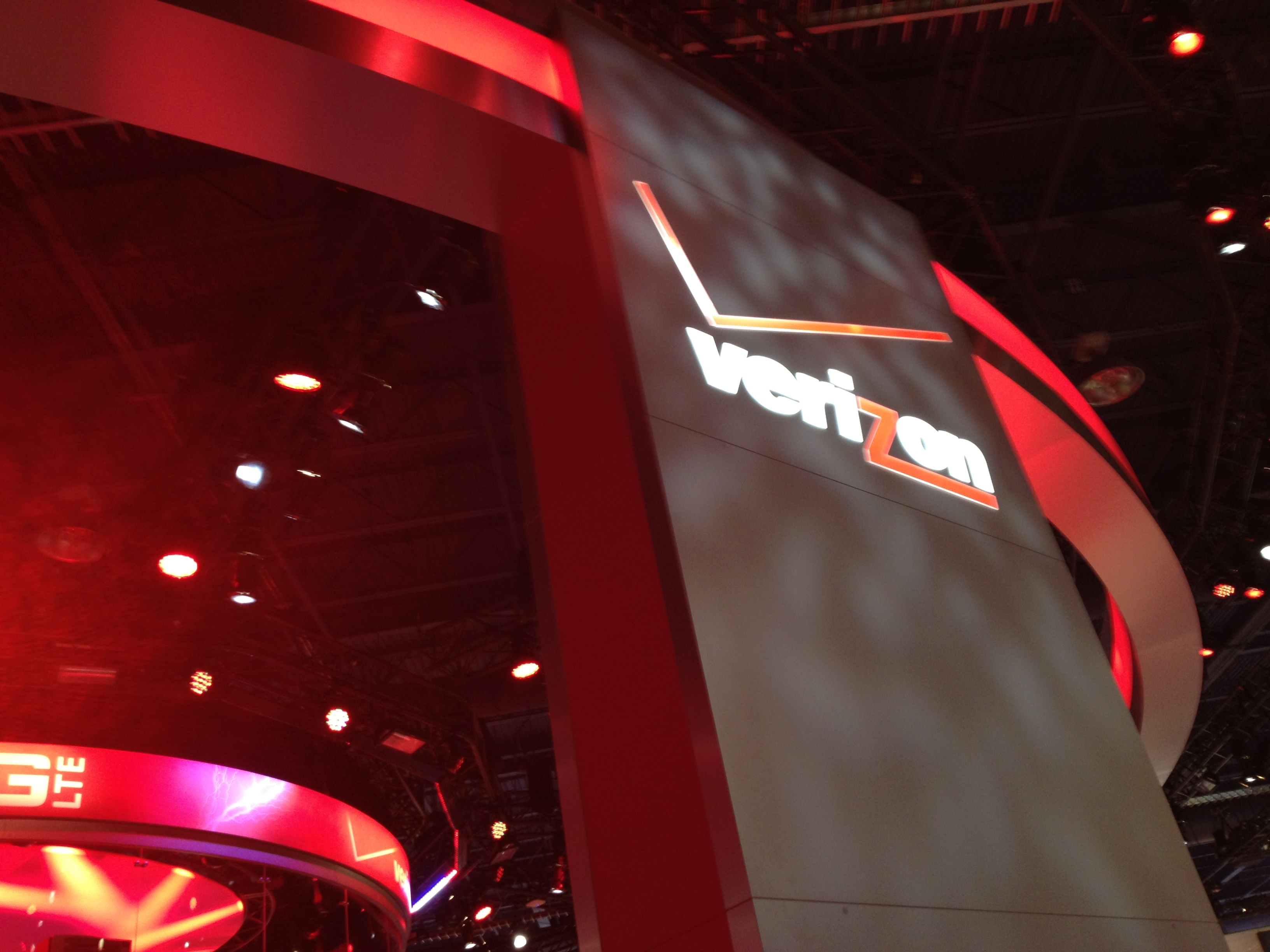 Verizon booth at CES 2012