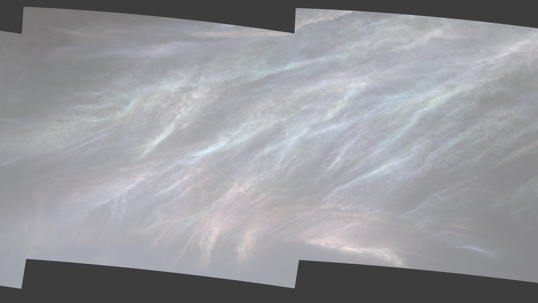 NASA Mars rover spots iridescent 'mother of pearl' clouds – CNET