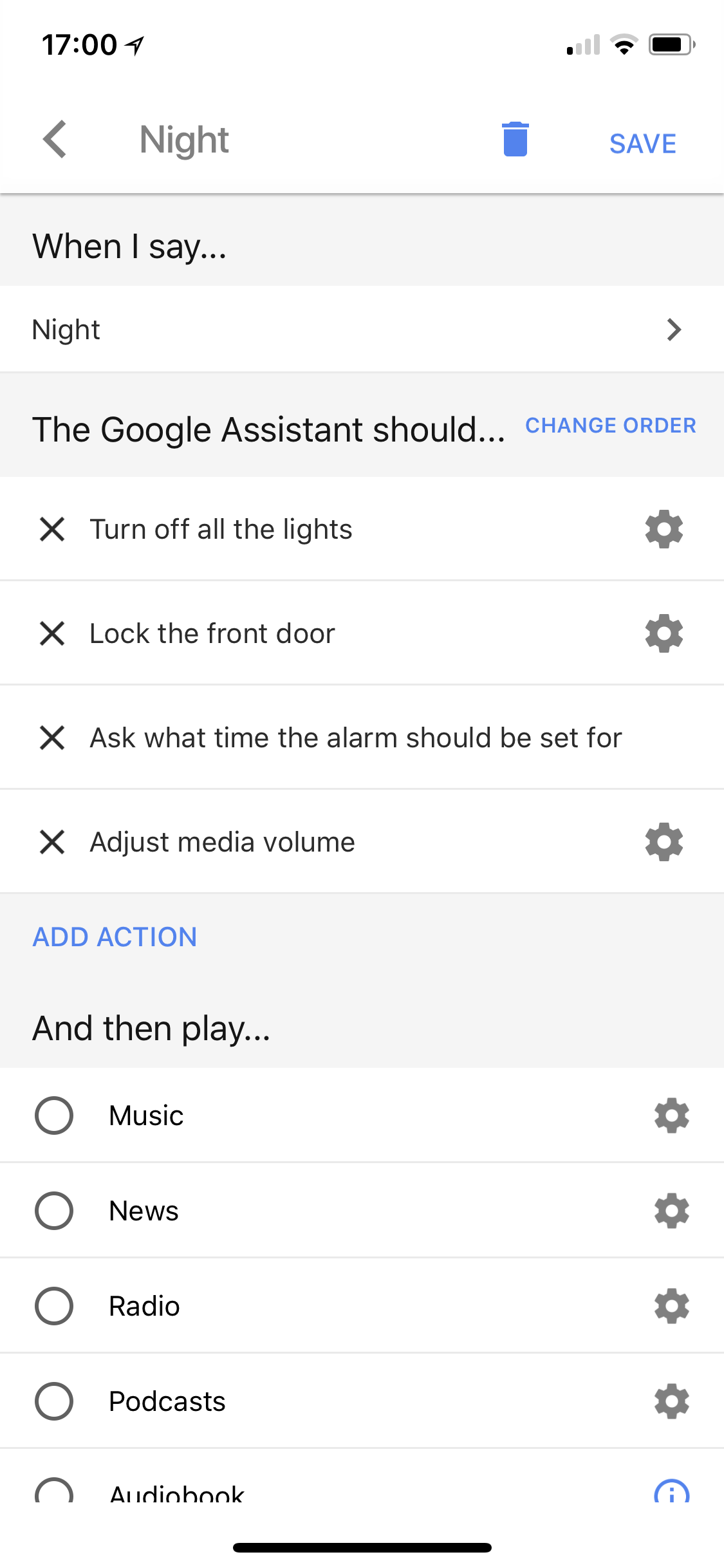 google-home-routines