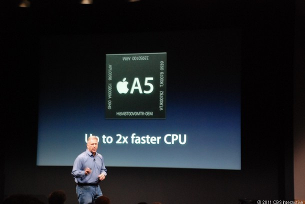 iPhone 4S chip