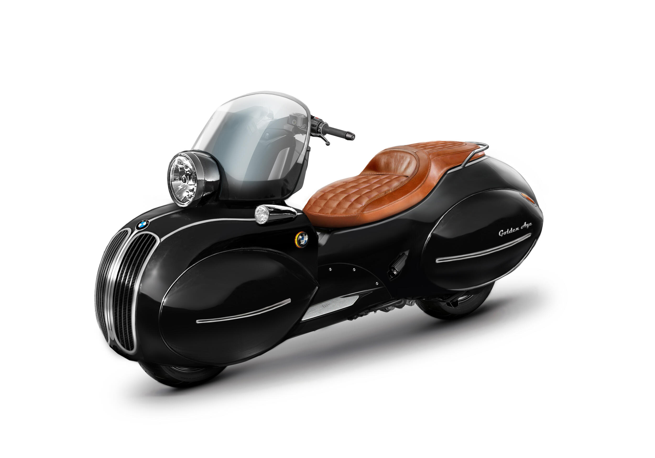 <p>It's one part practical transportation and one part art deco throwback.</p>