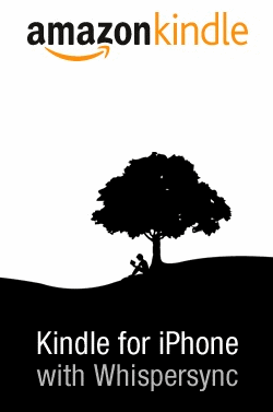What's black and white and read all over? Books on my iPhone.