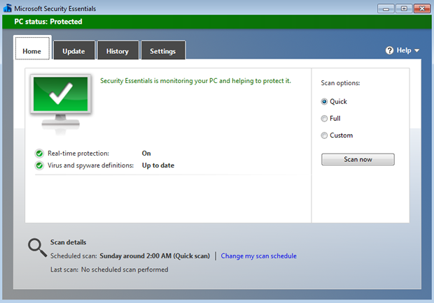 The new beta for Microsoft's latest version of Security Essentials