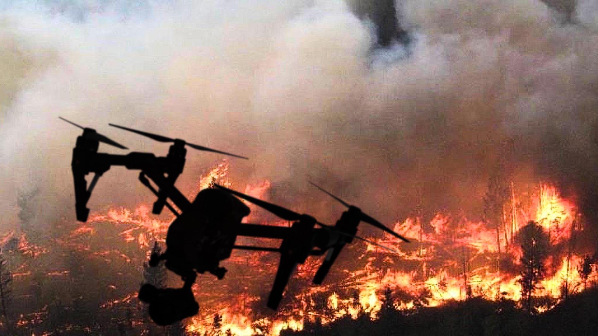 Video: How drones are helping fight California's wildfires