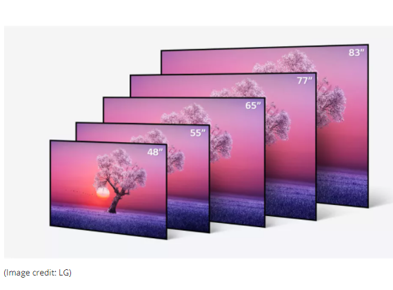 When It Comes To Tv Sizes Go Big Or Go Home Cnet