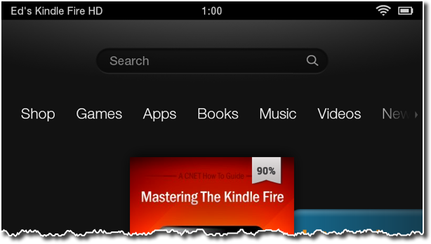 New Kindle device name