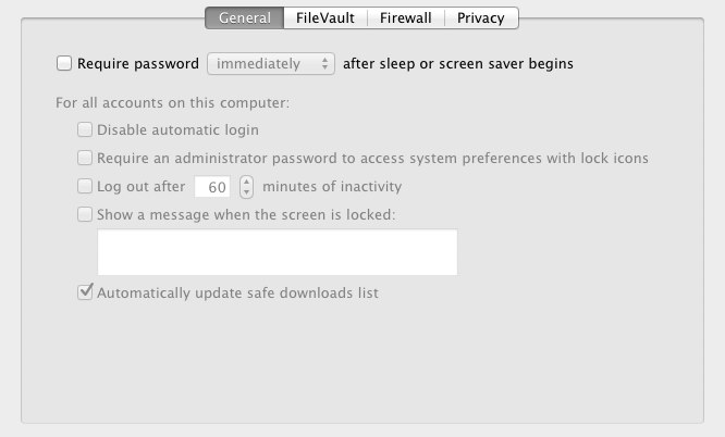"""Passware says """"automatic login"""" should not be enabled."""
