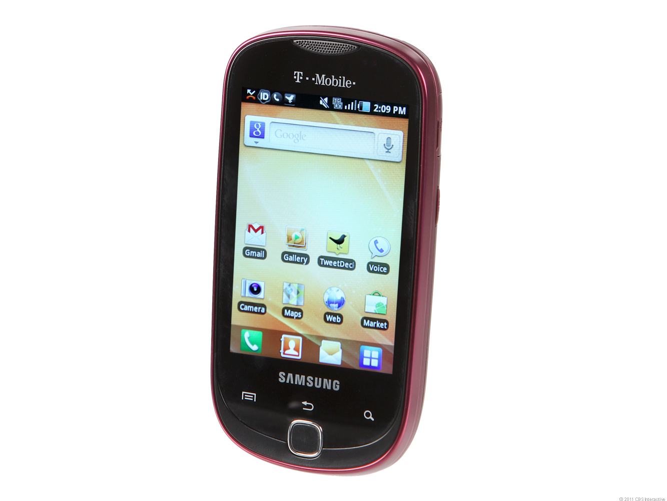 Samsung Gravity Smart - berry red (T-Mobile)