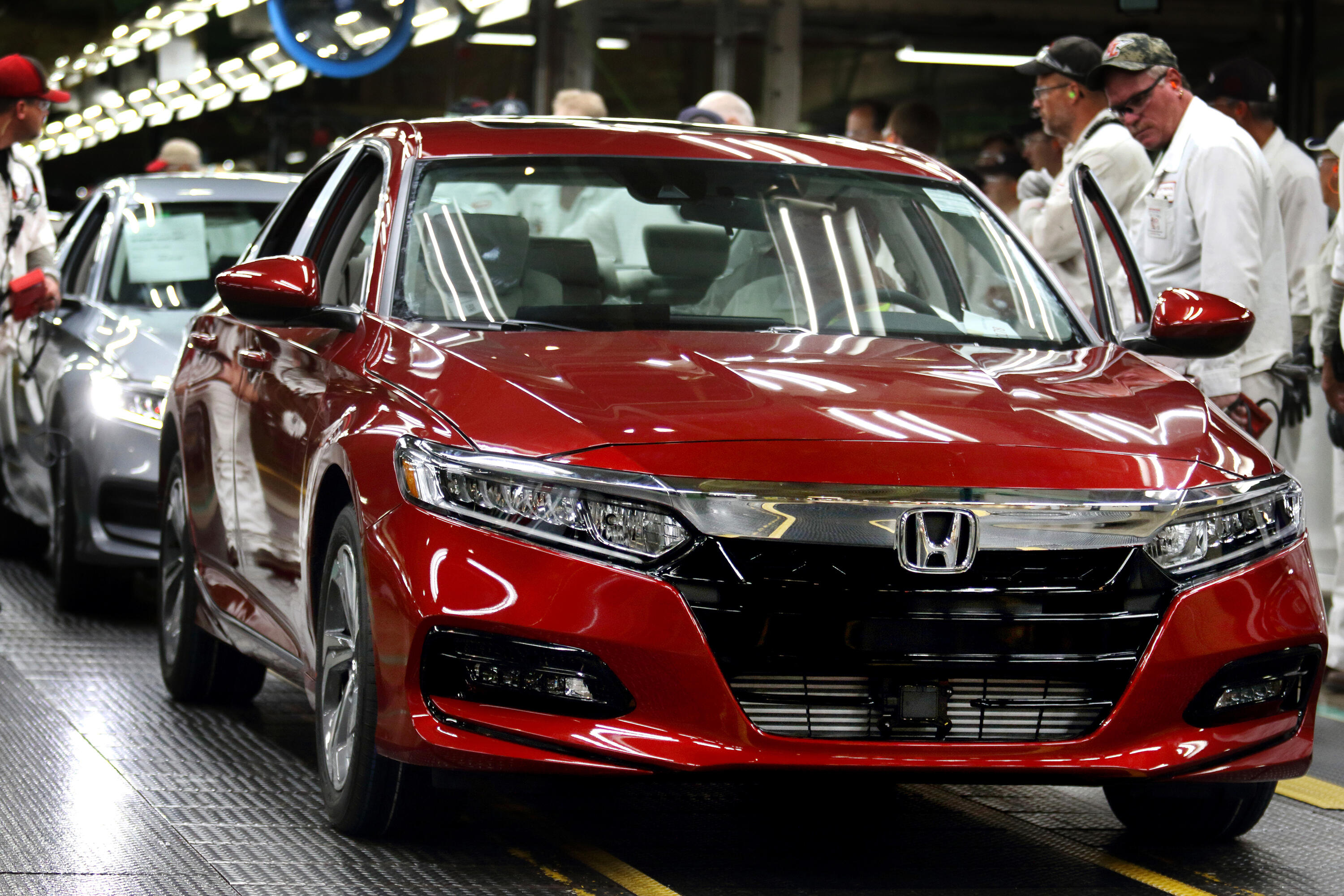Honda Accord production in Marysville, OH