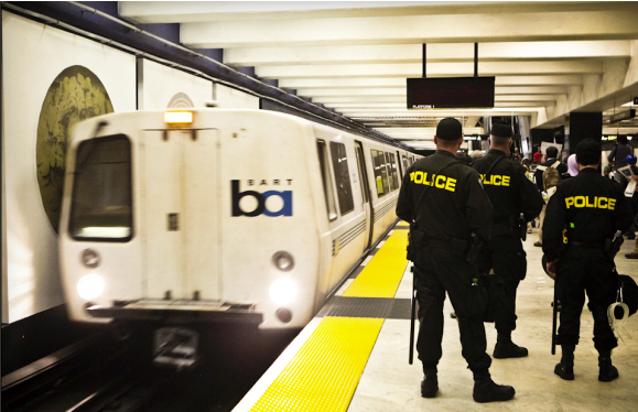 BART police and protesters had several standoffs last year after subway officials interrupted cell service to thwart a demonstration over fatal shootings by BART police.