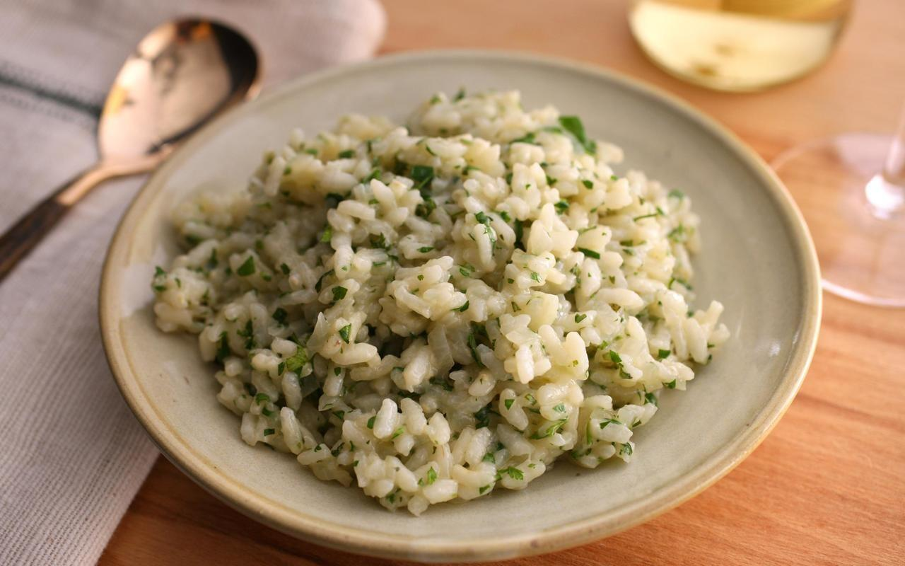 healthy-herb-risotto-recipe-chowhound