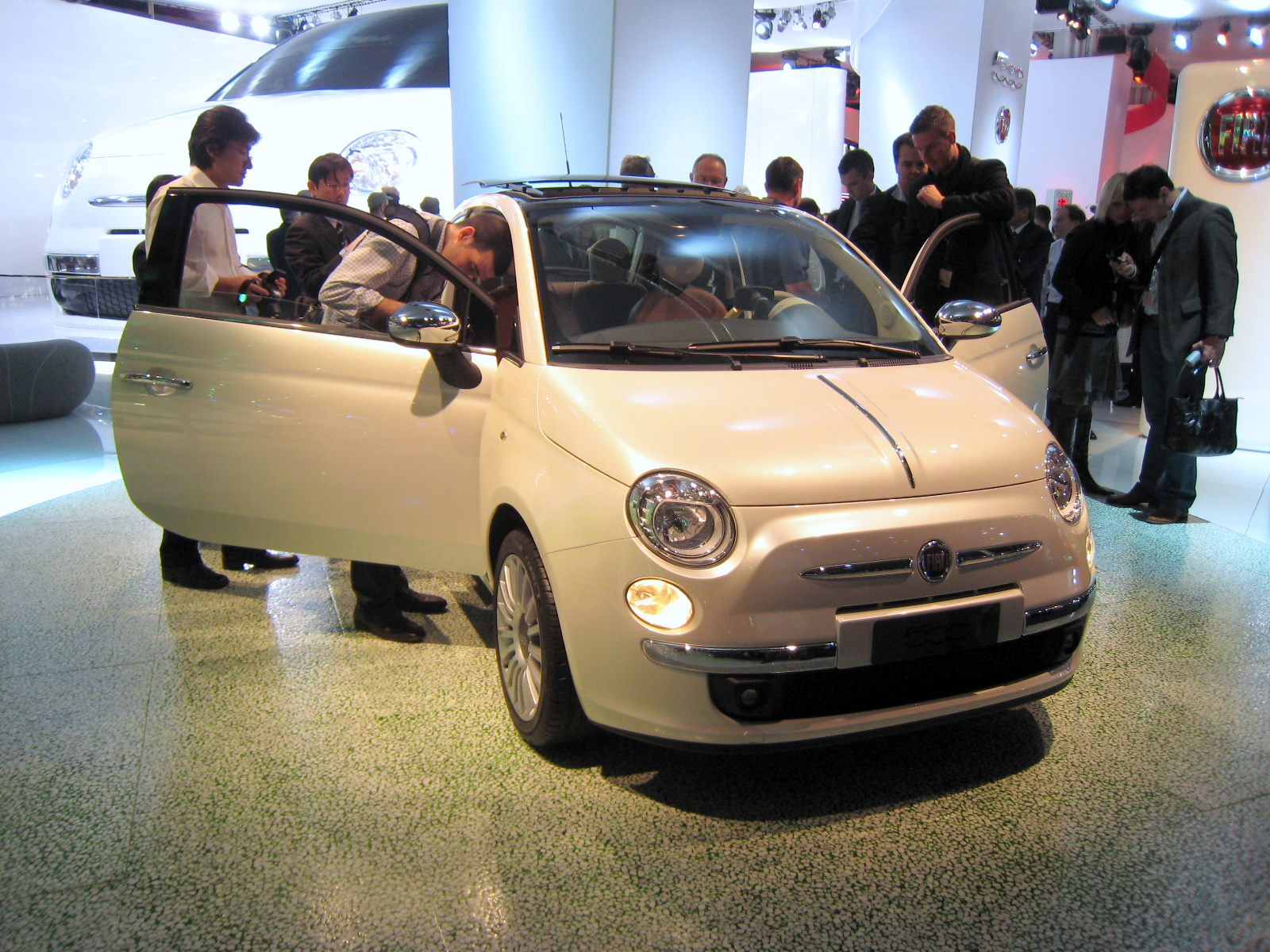 Ah, here's the real, actual size Fiat 500.