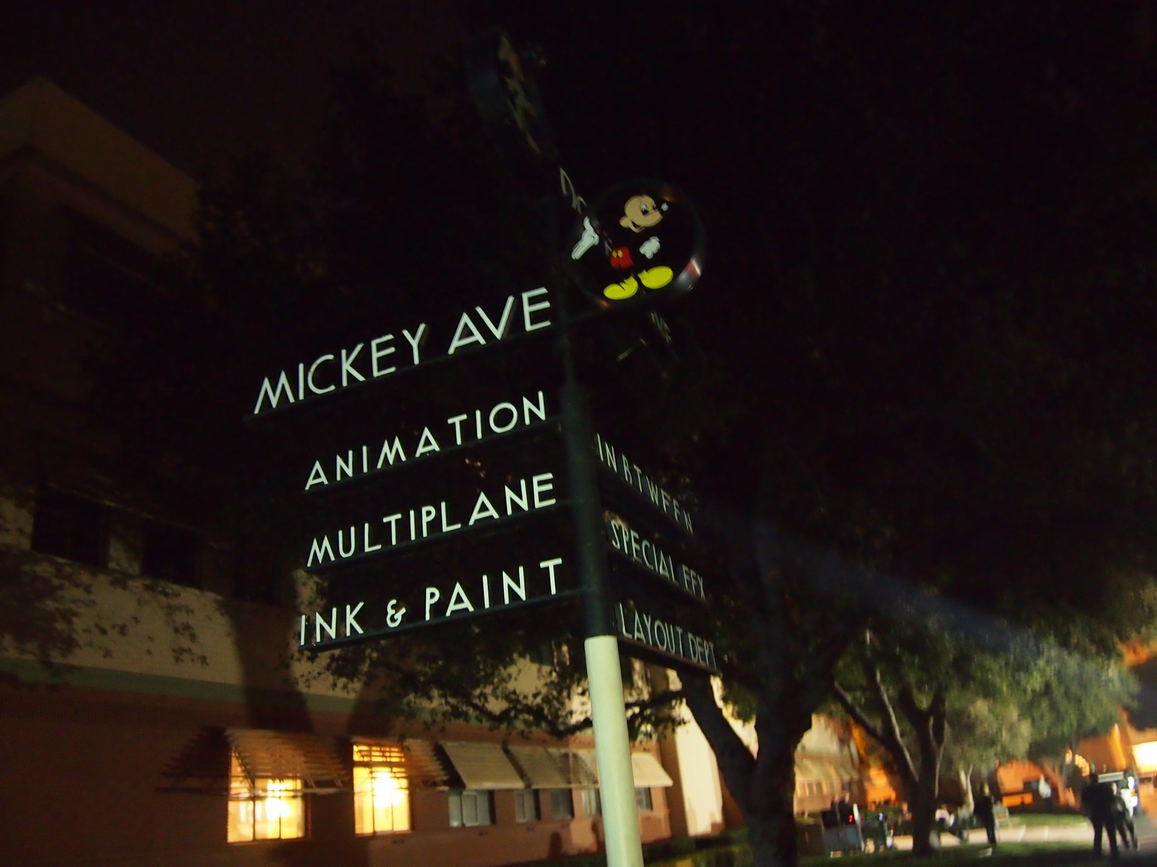 Mickey Avenue and Dopey Drive