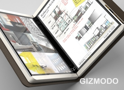 Microsoft's Courier tablet revealed