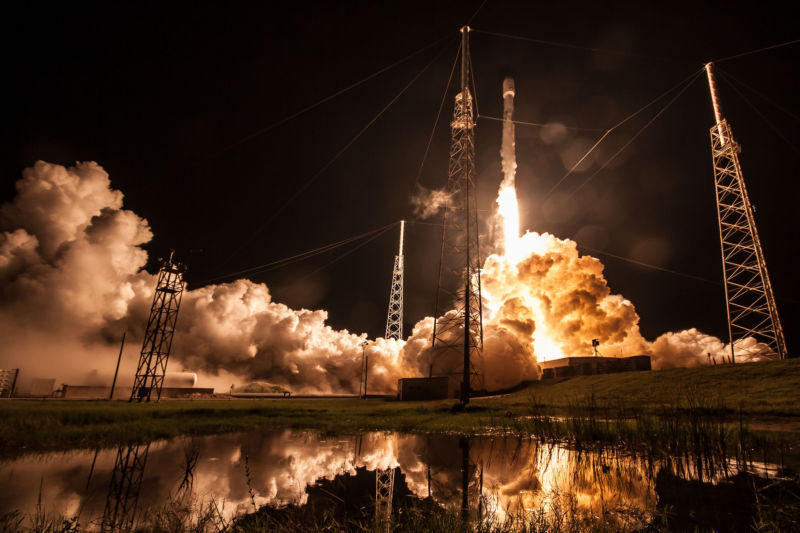 SpaceX rocket launch