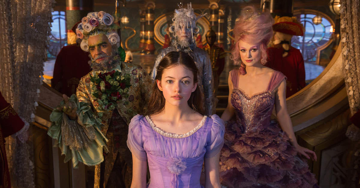 9 (tie). The Nutcracker and the Four Realms