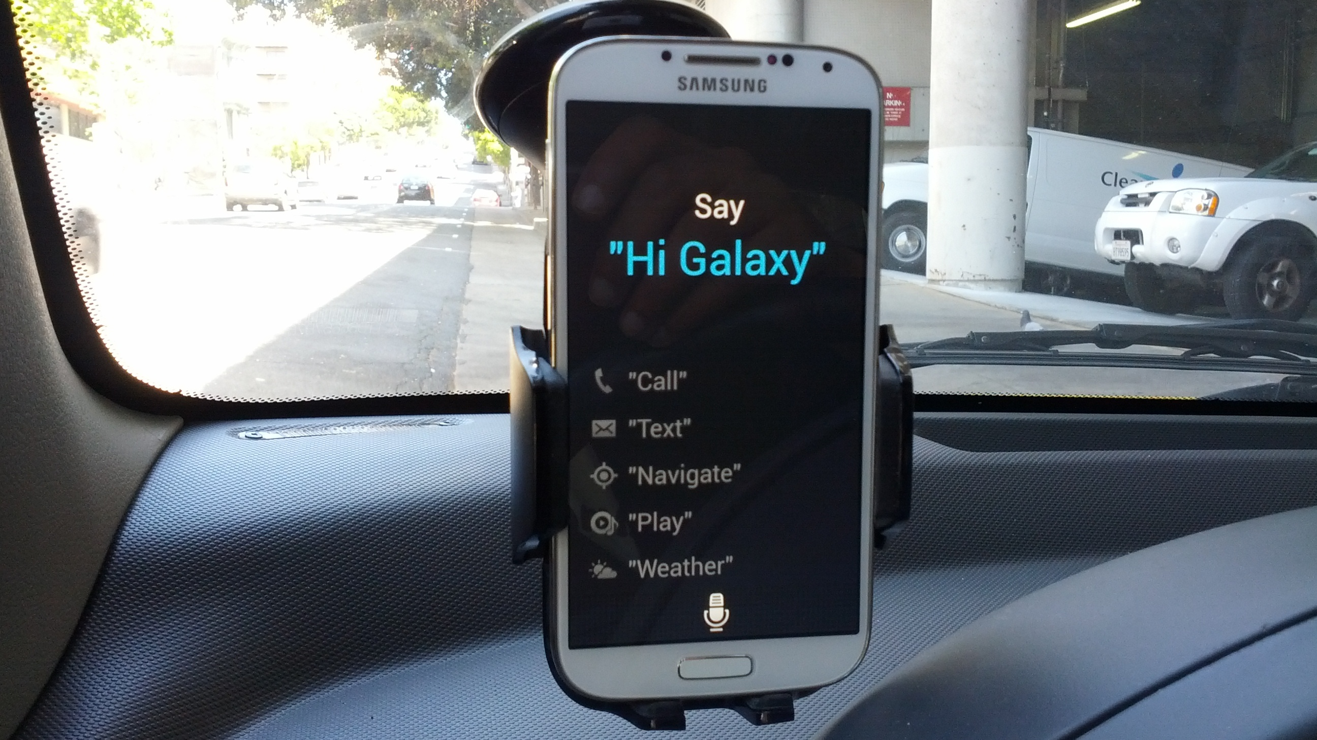 S-Voice Drive in the Samsung Galaxy S4