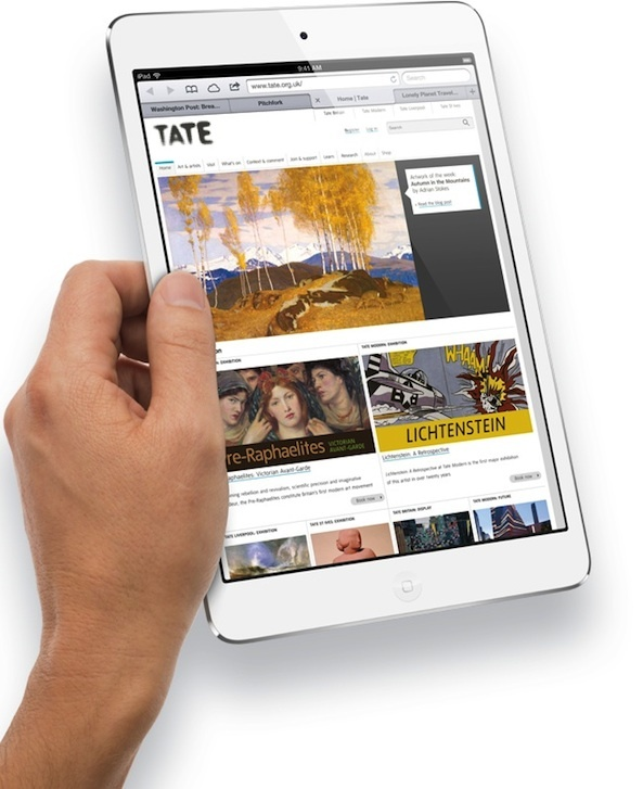 iPad Mini.  The iPad 5 may see much greater than the second-generation Mini this year.