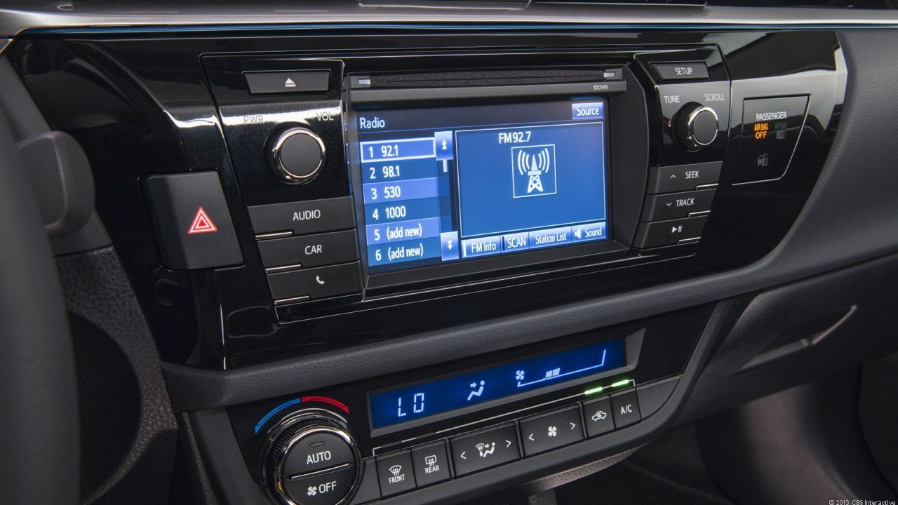 Optional display audio system