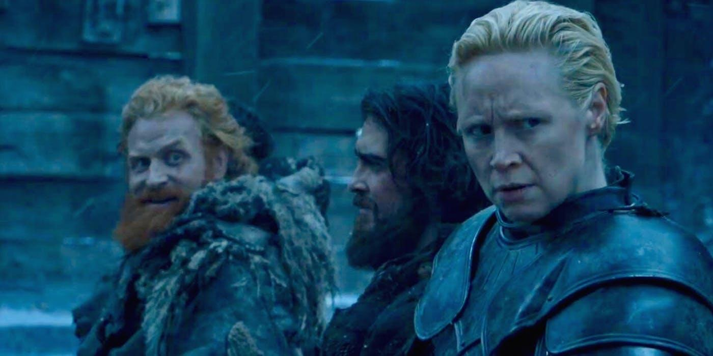 Tormund and Brienne find love