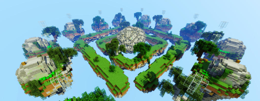 Playing CubeCraft's Skyworld multiplayer online server for will be easier with a summer update to Minecraft.