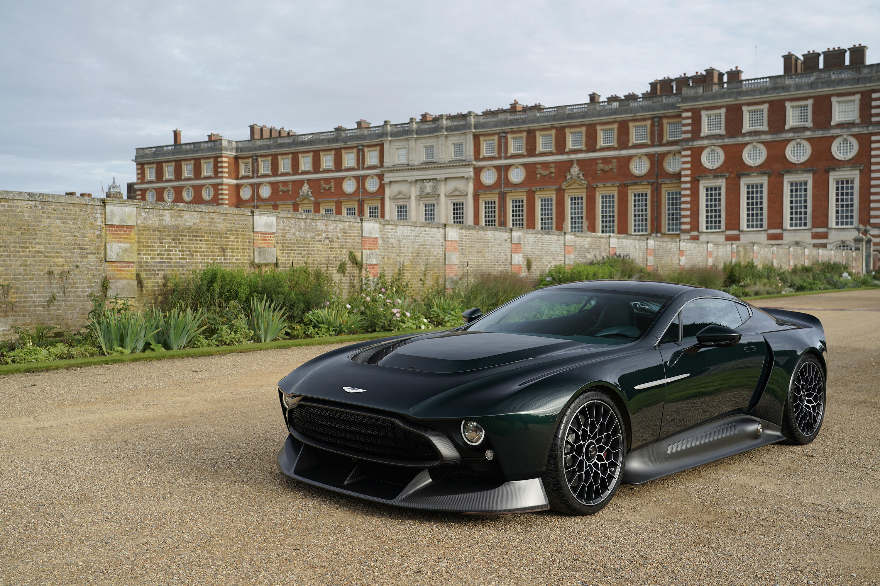 One Off Aston Martin Victor Has Pseudo Retro Looks An 848 Hp V12 And A Manual Transmission Roadshow