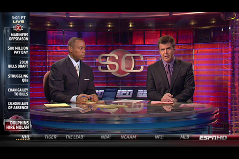 ESPN has launched a new app for iOS-based devices.