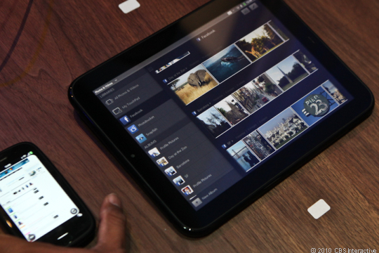 The HP Touchpad.
