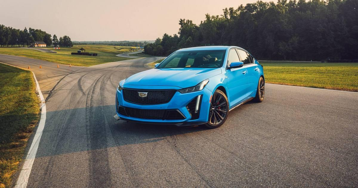 2022 Cadillac CT5-V Blackwing first drive review: One more than too much     - Roadshow