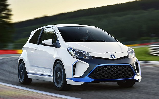 Toyota Yaris Hybrid-R concept is absolutely bonkers