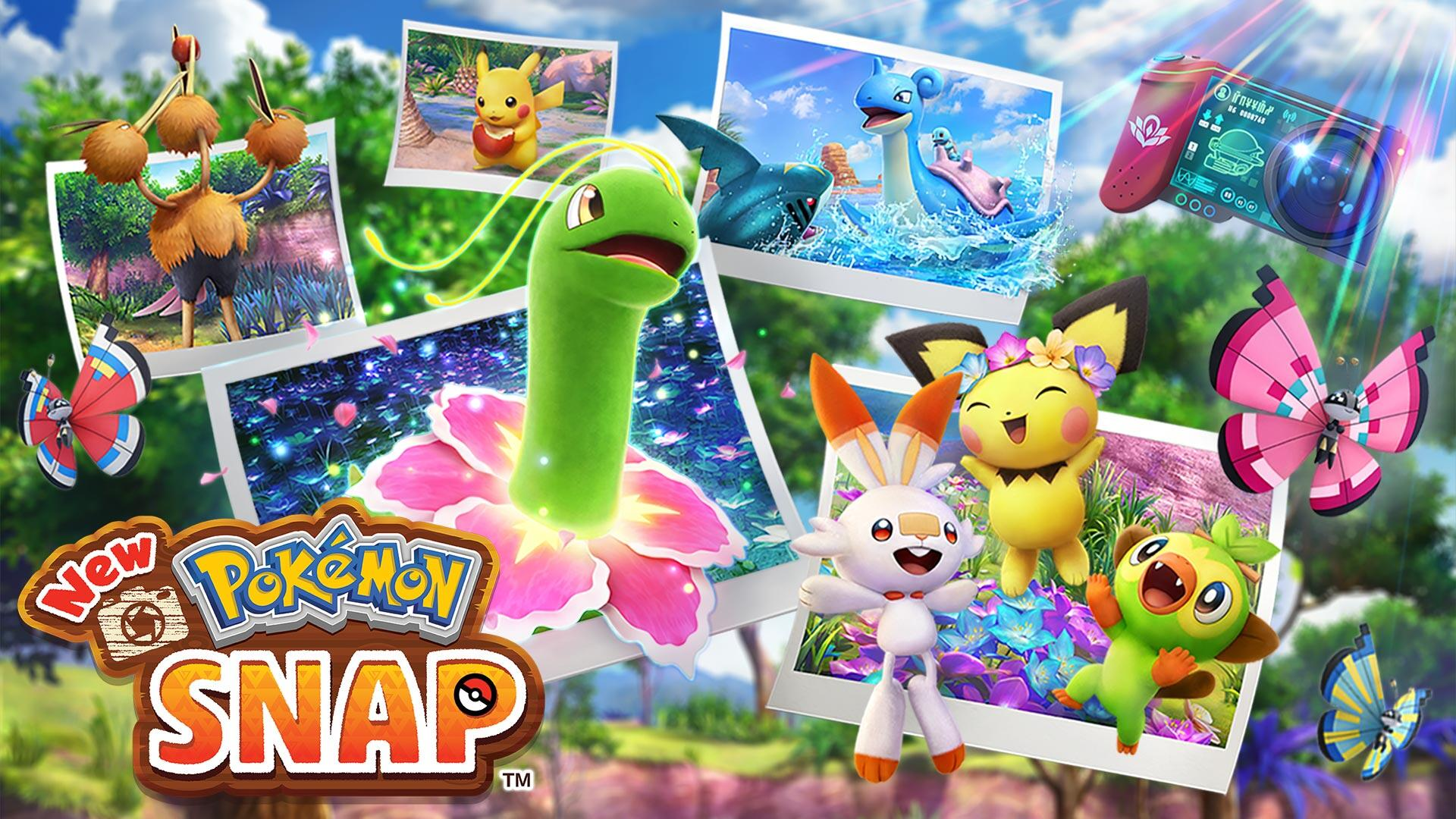 New Pokemon Snap: The most chill Nintendo game since Animal Crossing - CNET
