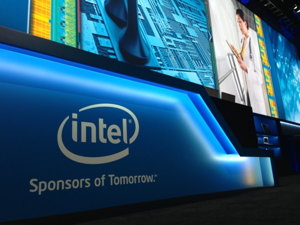 Intel talked up new processors at the Consumer Electronics Show in Las Vegas.