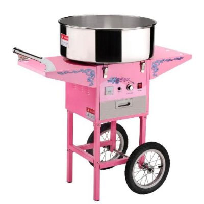 Cotton candy machine is there when you need it.