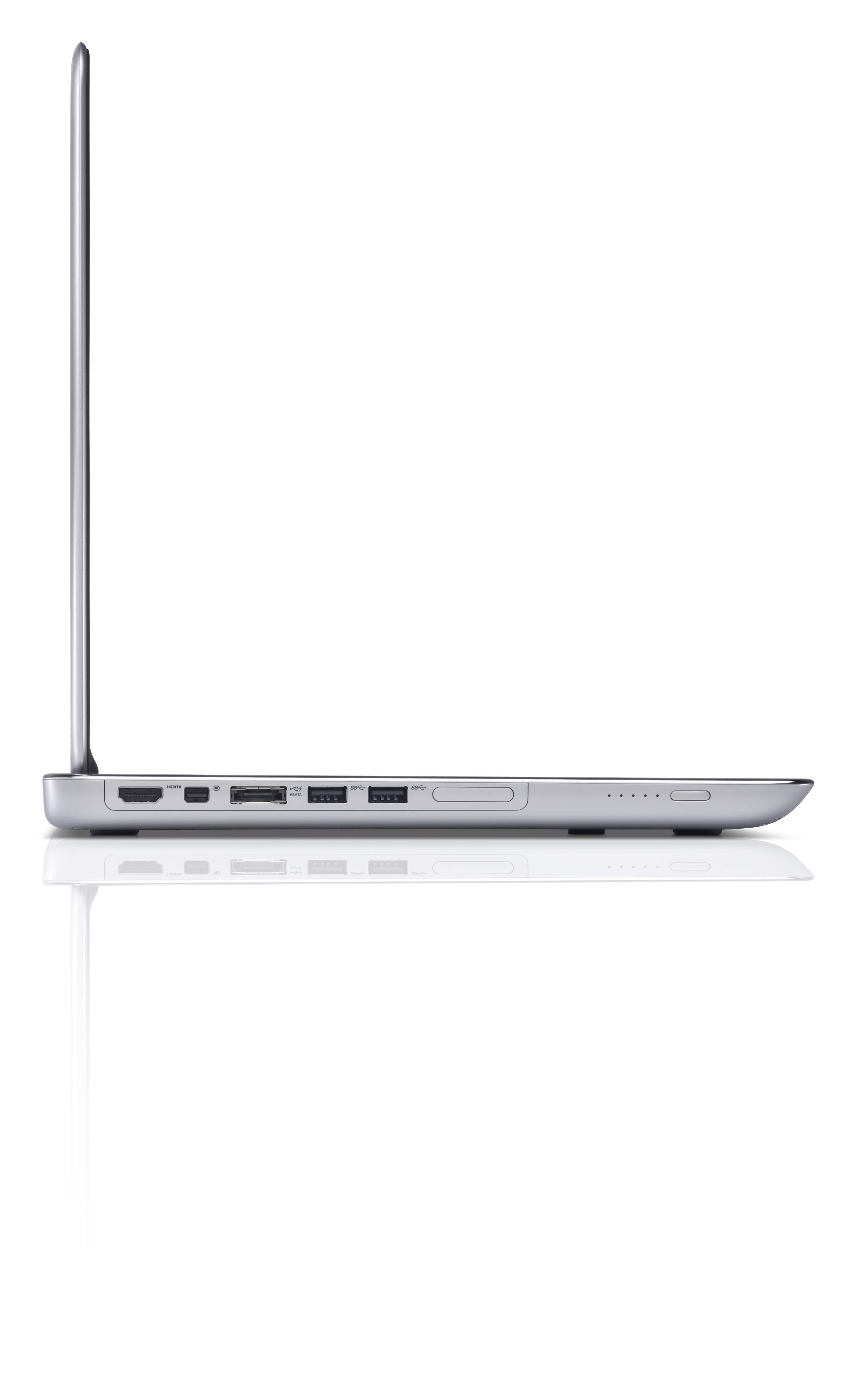 At .97 inches, the XPS 15Z is thicker than its predecessor the 13-inch Adamo, which measured .65 inches at its thinnest point.