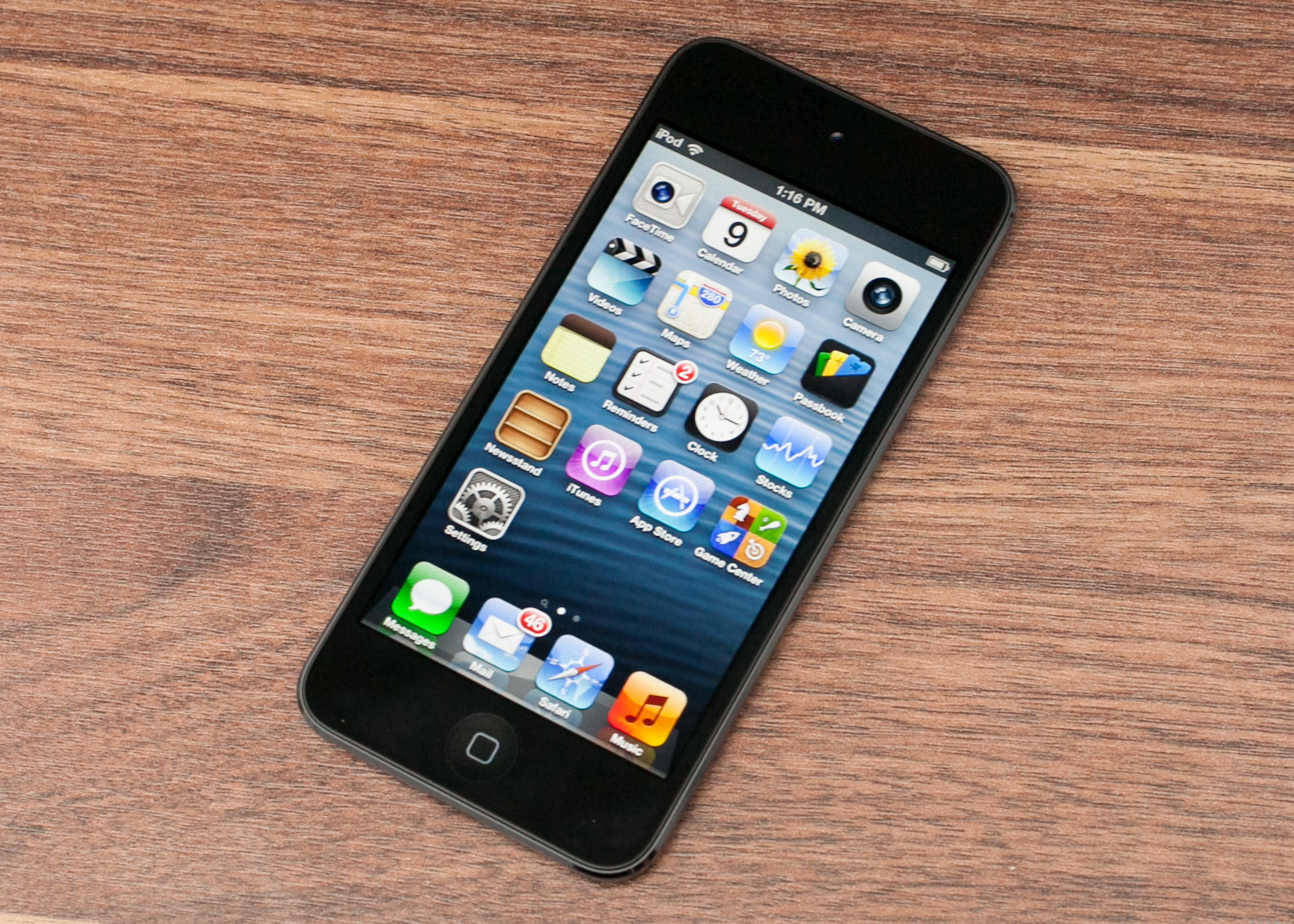Apple iPod Touch (5th generation, 32GB, white/silver)