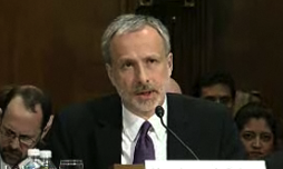 """James Baker, associate deputy attorney general, warned last year that requiring search warrants for e-mail could have an """"adverse impact"""" on criminal investigations."""